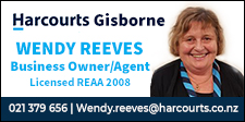 Wendy Reeves - Harcourts Gisborne